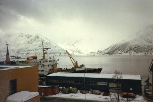 fjord & ship