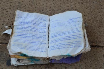 bleached lost notebook