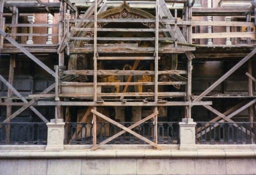 christ under construction