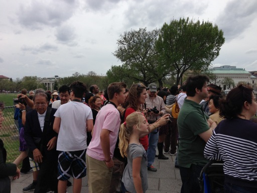 many dc tourists