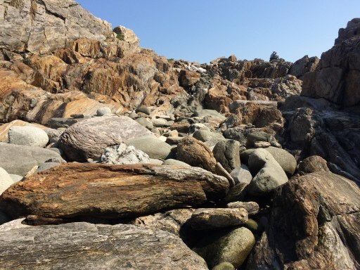 rounded rocks