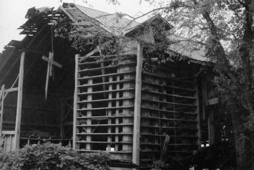 hanging cross house