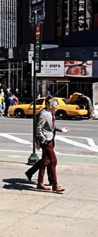 handsome men walking